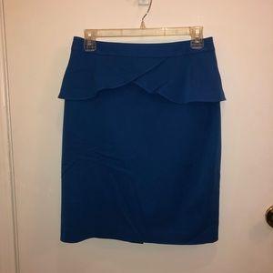 Express peplum skirt